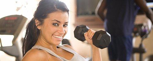 Alexa Loren na siłowni