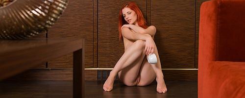 Ariel i filiżanka kawy