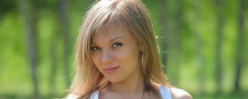 Avril na łące