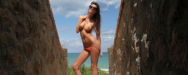 Barbara w bikini