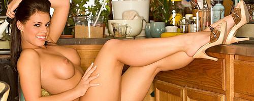 Brittany Fuchs w kuchni