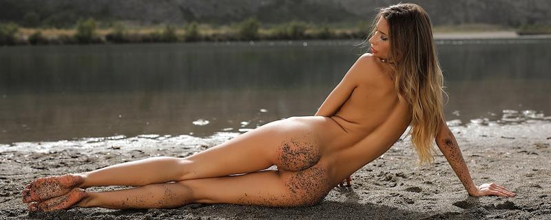 Claudia nad jeziorem