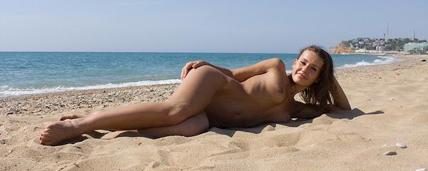 Coco na plaży