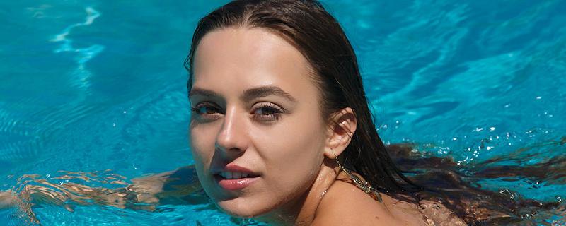 Dominika w basenie