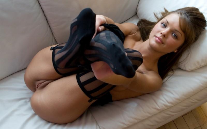 Pantyhose in blog women real