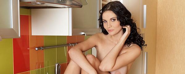 Eliana w kuchni
