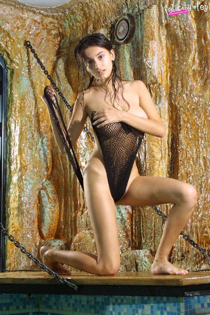 Anal latex femdom