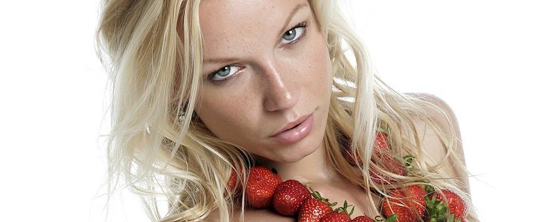 Gwyneth – Naszyjnik z truskawek