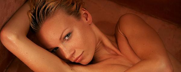 Gwyneth pod prysznicem
