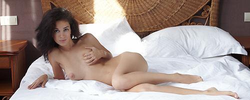 Helen w sypialni