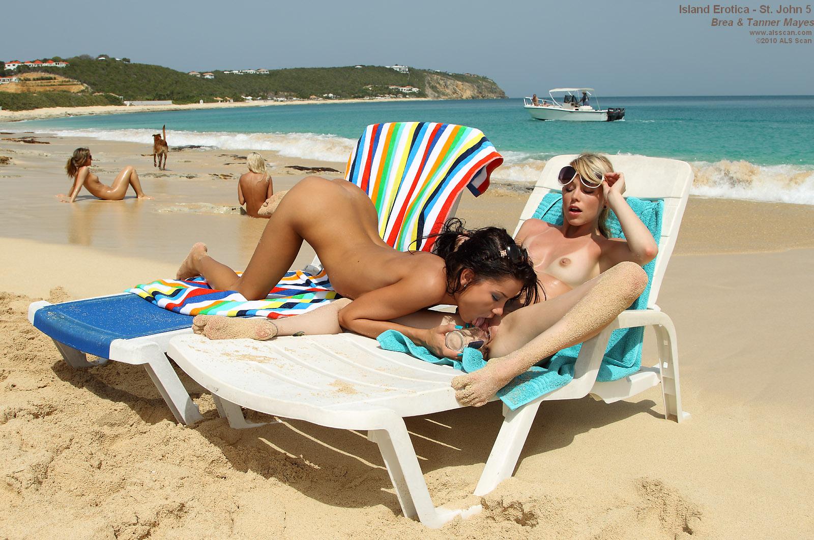 Лесби фото на пляже