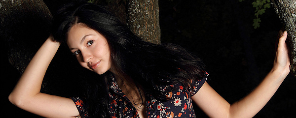 Jasmin w ciemnym lesie