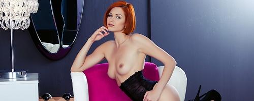 Kamila Hermanova w Playboy`u