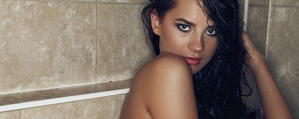 Klaudia Badura pod prysznicem