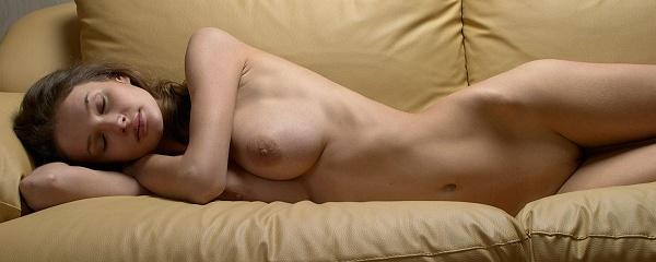 Kristina na kanapie