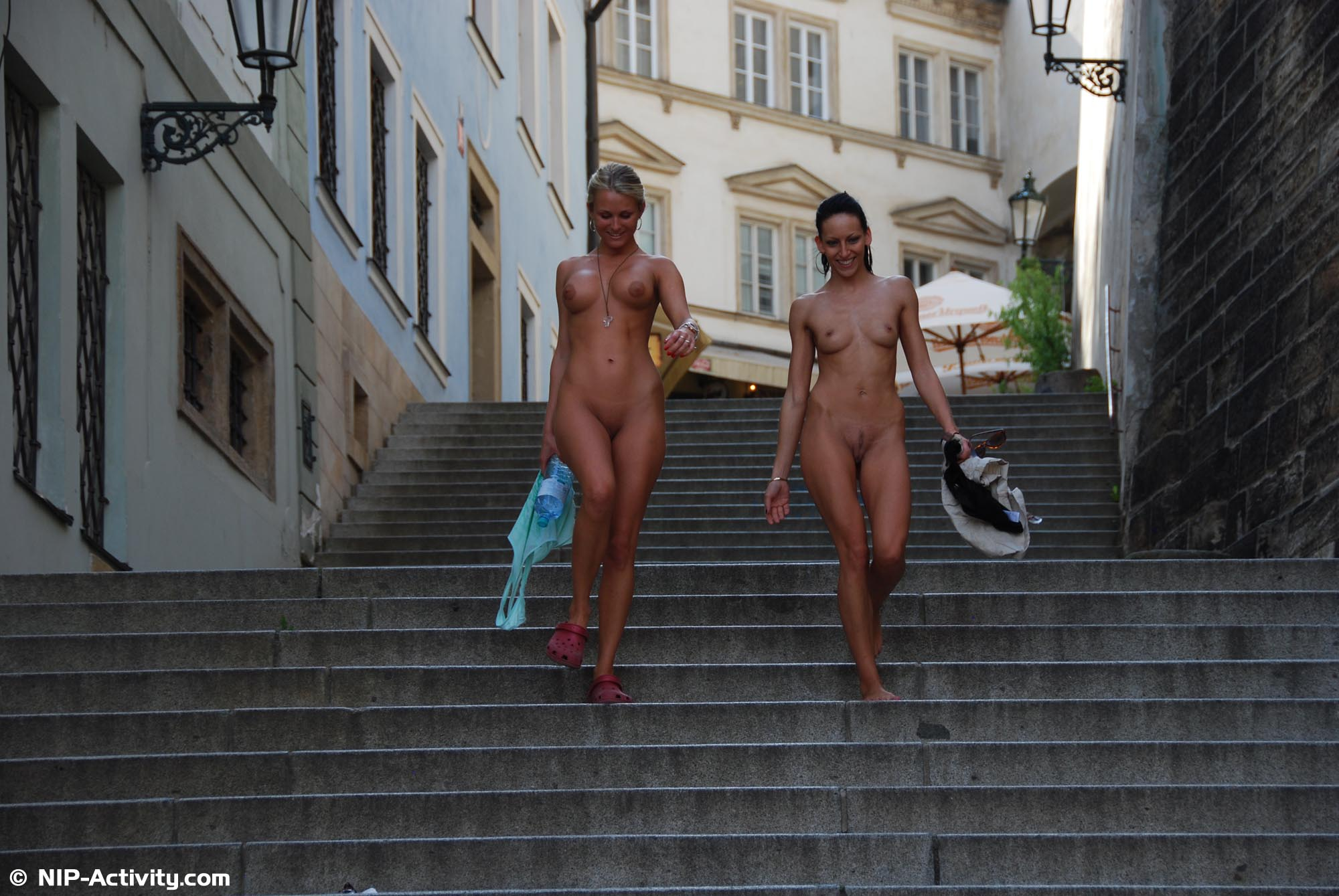 Прогулка по праге порно
