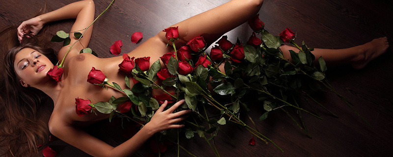Melena – Bukiet czerwonych róż