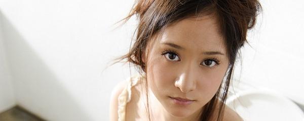 Midori Mizuno w łazience