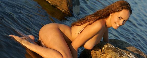 Milena nad jeziorem