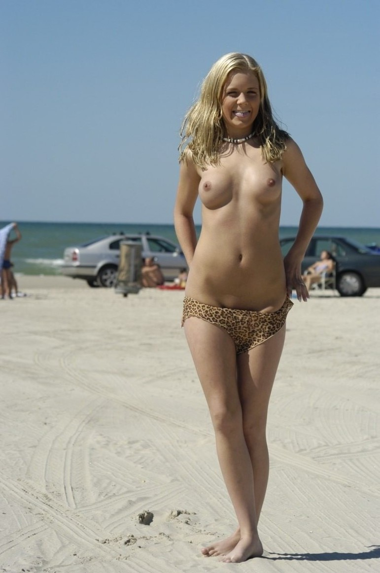 Understand Awesome girl student nudist beach
