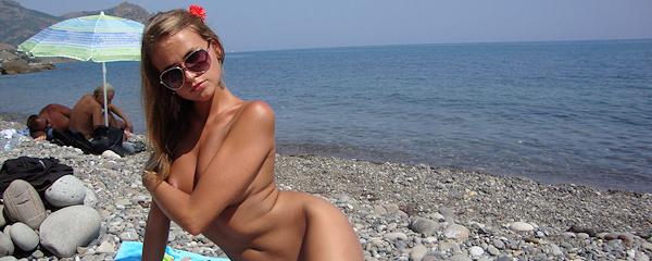 Młoda Rosjanka na wakacjach