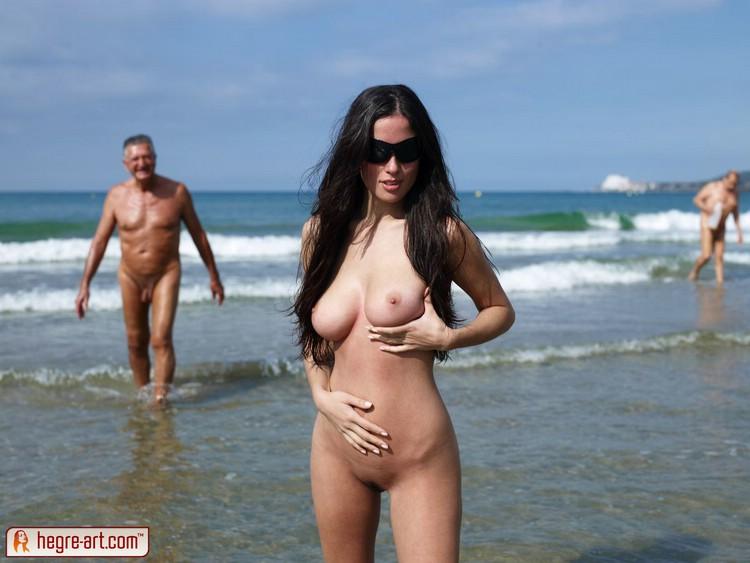 polki toples na plaży
