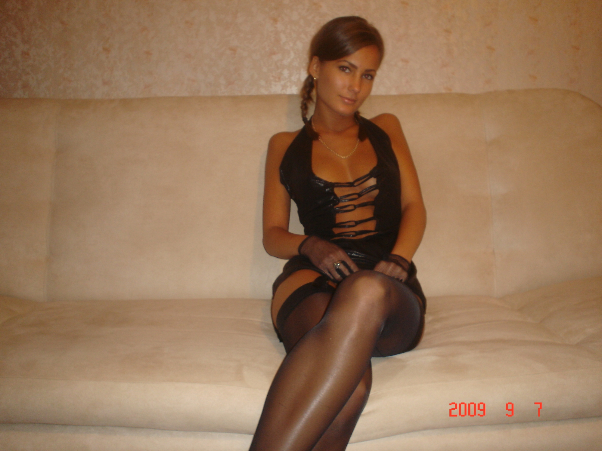 wives stockings Hot amateur milf in