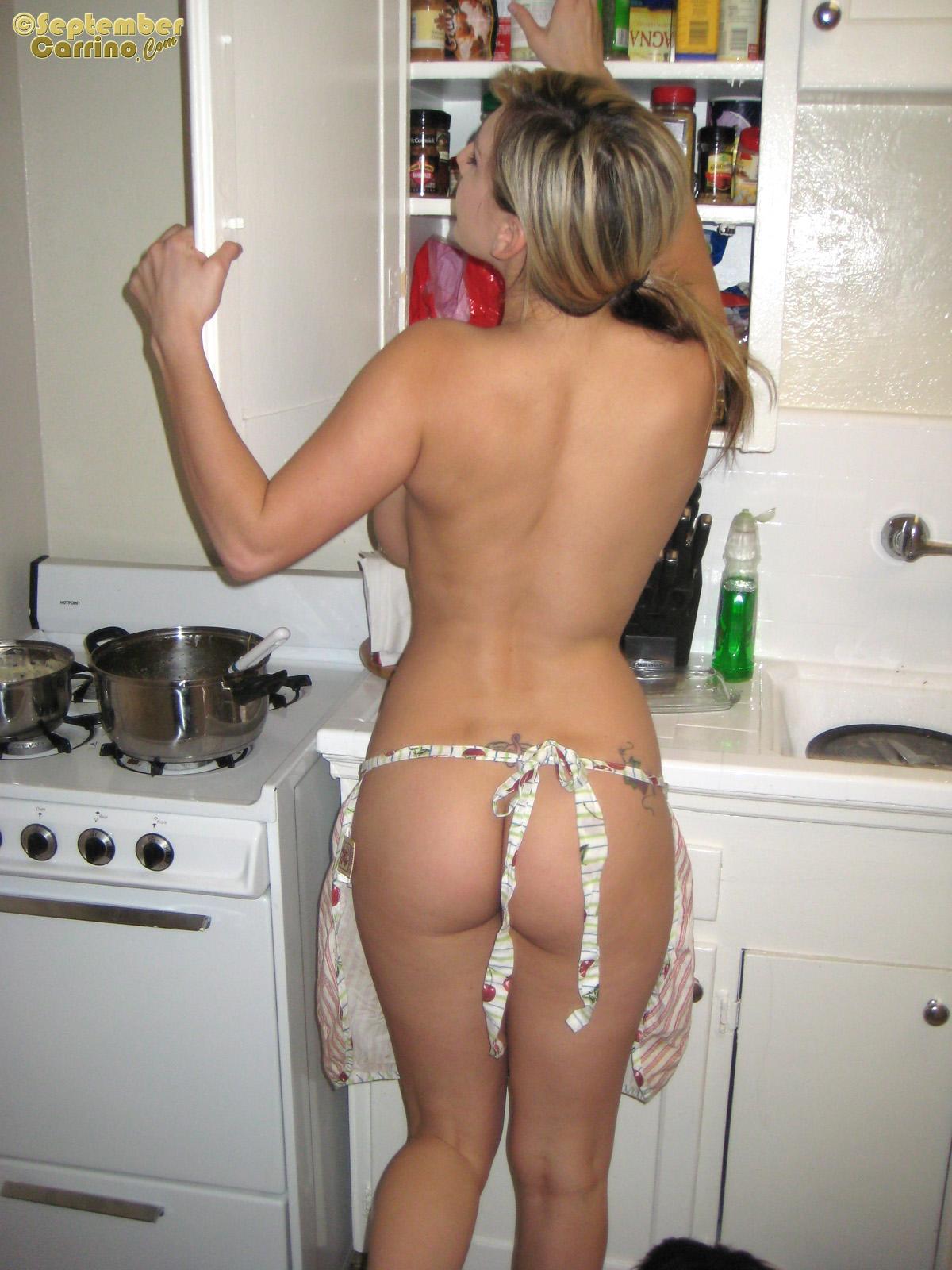Фото сексуальной поварихи 24 фотография