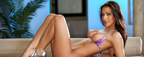 Rebecca Lynn w bikini