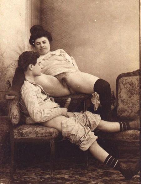 Старинные фото секс