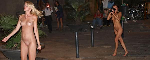Samantha Heat i Agnes – Nocne zwiedzanie Barcelony