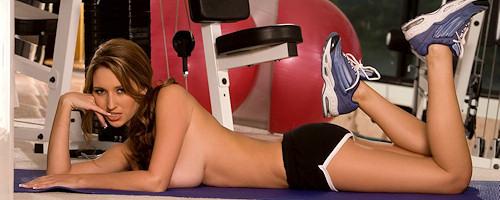 Shay Laren w siłowni