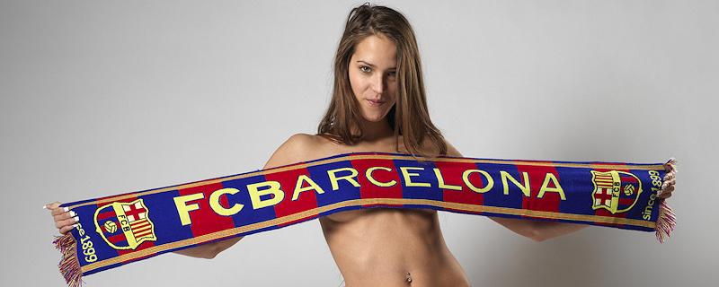 Silvie – Seksowna fanka Barcelony