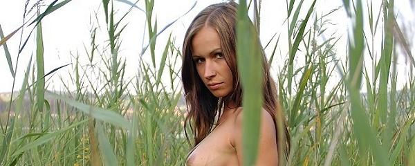 Susana Spears nad jeziorem