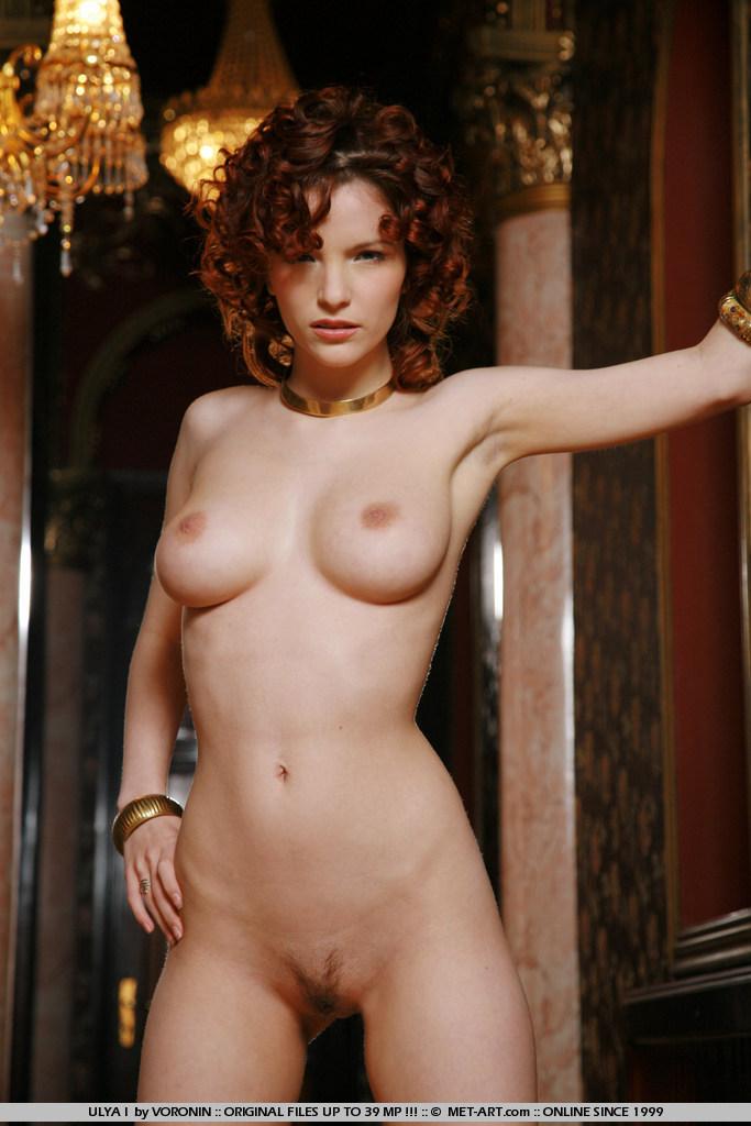 Curly hair redhead roommate nude