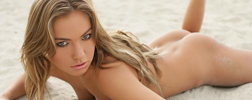 Veronika Fasterova na plaży